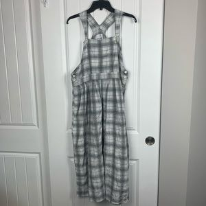 Vintage flannel overall